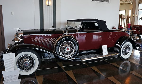 The most popular factory built Duesenberg is the J Murphy Roadster. Here is a 1931 edition with iconic two-tone paint.