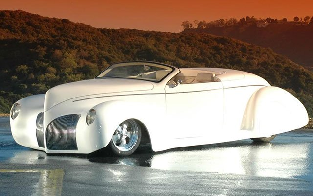 1939 Lincoln Zephyr Custom Convertible