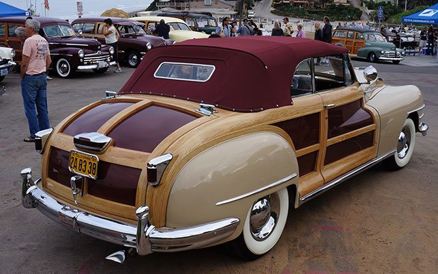 1947 Chrysler Town & Country Woodie Convertible