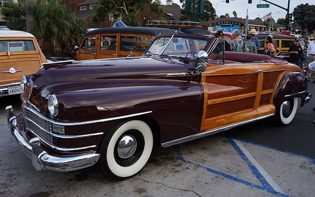 1948 Chrysler Town & Country Woodie Convertible