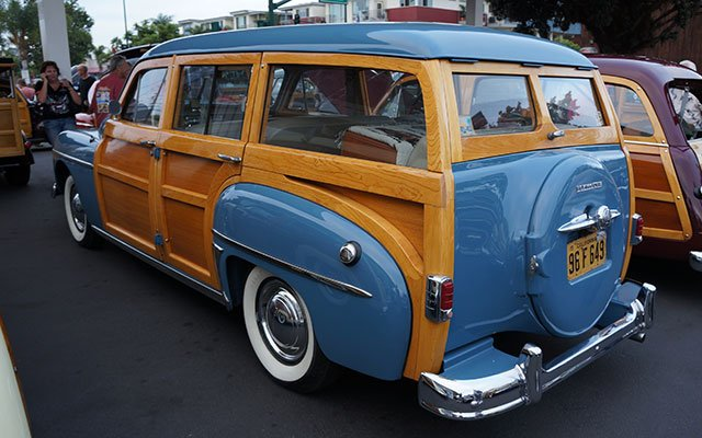 1949 Plymouth Suburban Custom Woodie Wagon