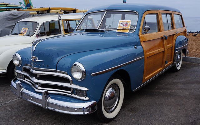 1950 Plymouth Super Deluxe Suburban Woodie Wagon