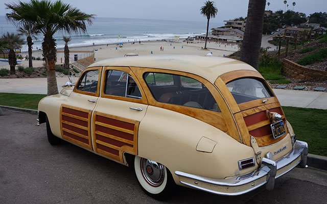 1950 Packard Woodie Station Wagon