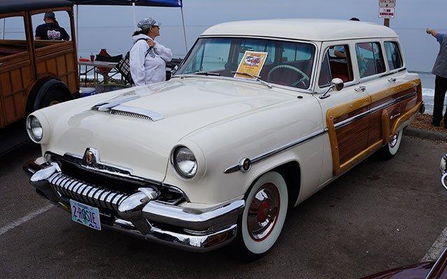 1954 Mercury Monterey Woodie Wagon
