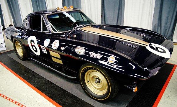 Legendary racer and creator of the Yenko Camaro, Don Yenko drove this 1963 Corvette Race Car.