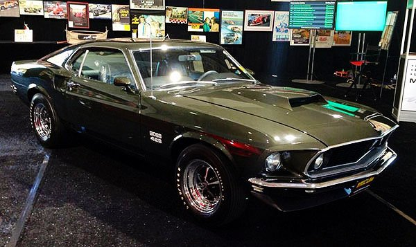 A 1969 Boss 429 Mustang was sold last night for $550,000. They say that is a record for Boss 429's. True, this one is special. It has the rare original Jade paint and has only 902 miles on the odometer, said to be original. But this is a sale we may long remember.