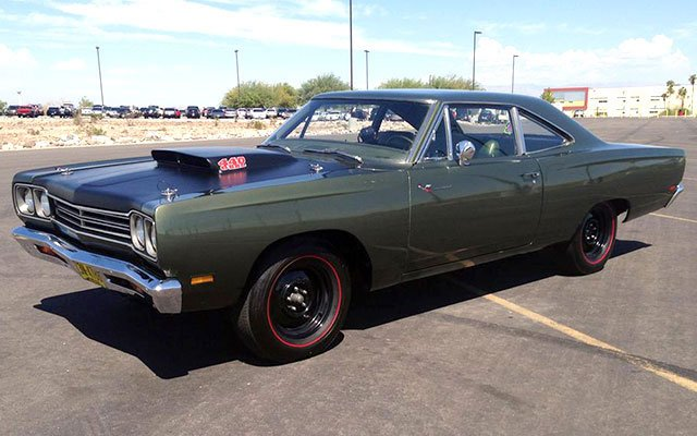 1969 1/2 Plymouth Road Runner A12