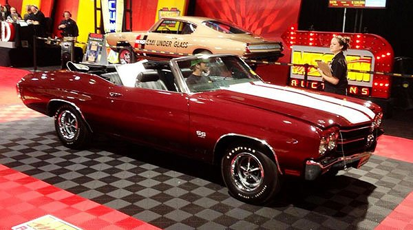 Cars On Line newsletter readers will be encouraged that a 1970 Chevelle SS 454 Convertible sold for $115,000.