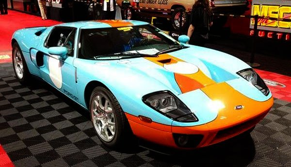When the 2006 Ford GT Heritage Edition went across the auction block there were some eyebrows raised at the escalating bids for this truly rare car. The announcers noted that it was so pristine and untouched that it still had the factory seals on the hood. It had never been opened. Indeed it looked like the interior was still in the wrapper. The car sold for an incredible $377,500.
