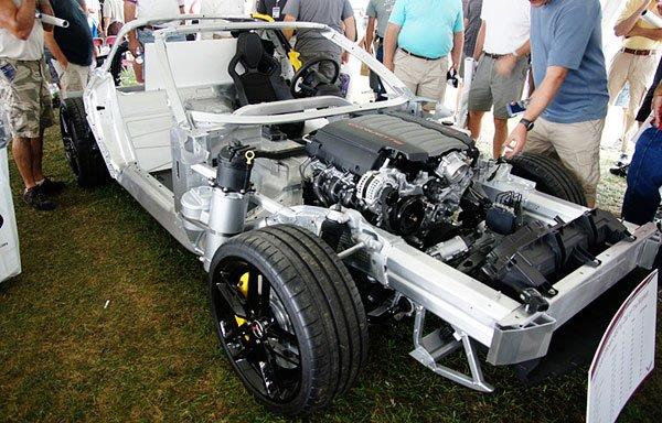 Take a look inside the 2014 Corvette Stingray.