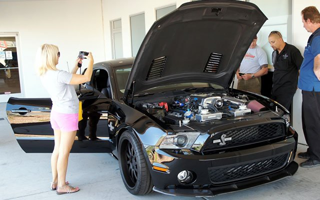 Taking delivery of a 2013 Shelby Super Snake