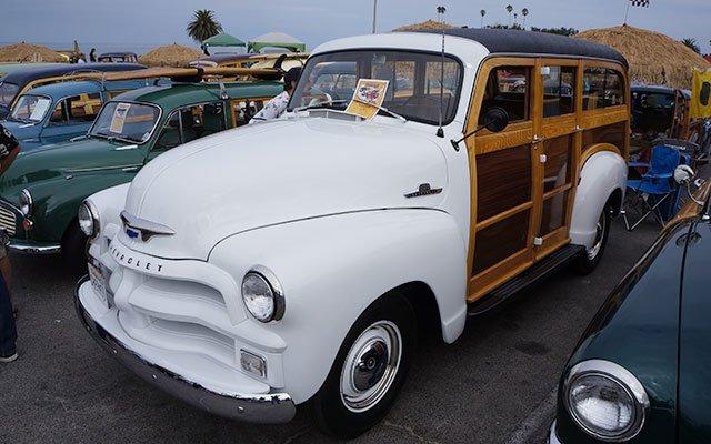 1955 Chevy Suburban Woodie