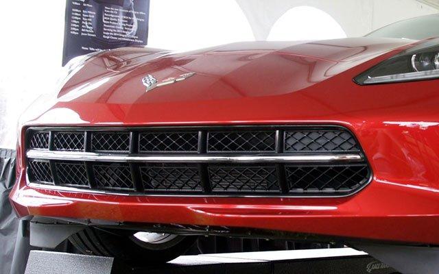 2014 Corvette Stingray grille