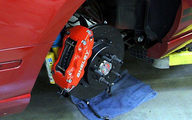 Shelby 1000 brake upgrade