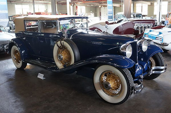 Wow! Look what we found in the Worldwide Auction lineup for Saturday evening. It is a 1930 Cord L29 Phaeton ... a wonder to behold.