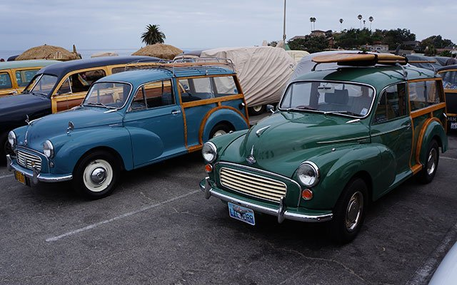 Morris Minor 1000 Traveler Woodie Wagons