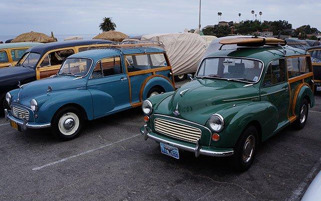 Morris Minor 1000 Traveler Woodie Wagons
