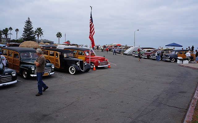 Over 200 Woodies on Display