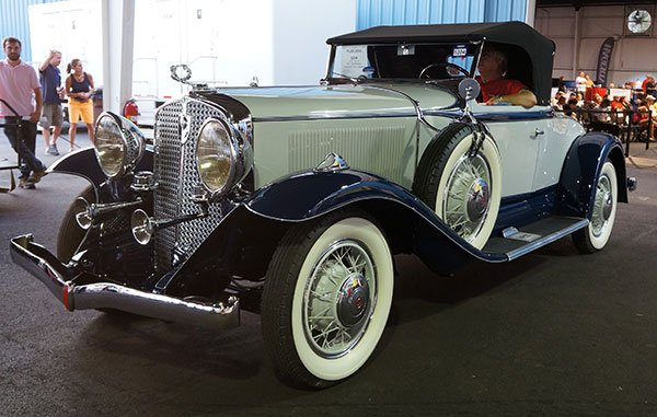 Bidding on the 1931 Studebaker President All-Seasons went way over $100,000.