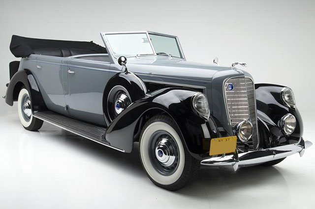 1937 Lincoln K Willoughby