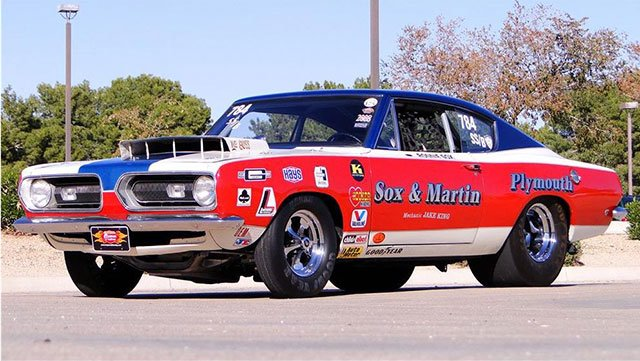 1968 Plymouth Barracuda Sox & Martin Race Car