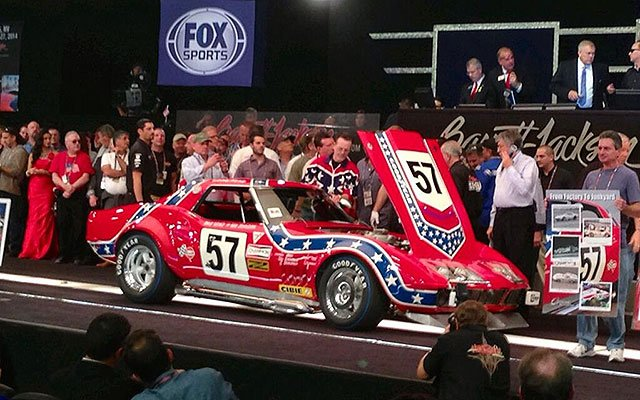 "Top sale here at 2014 Barrett-Jackson Auction ""Prime Time"" Saturday"