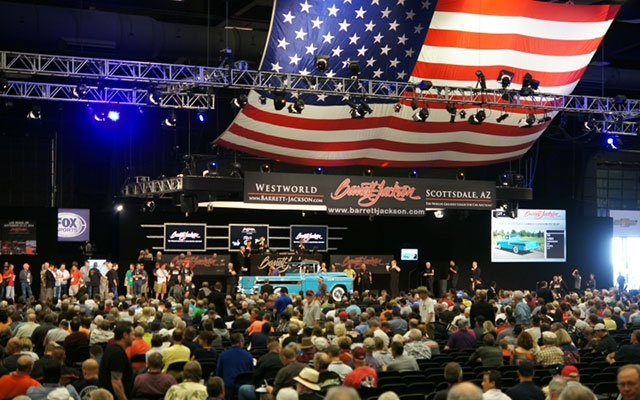 Thursday at the 2014 Barrett-Jackson Auction