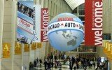 Chicago Auto Show entrance