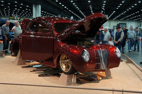 "1940 Ford Coupe ""Checkered Past"""