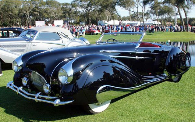 2014 Amelia Island Concours Winner 1937 Horch 853