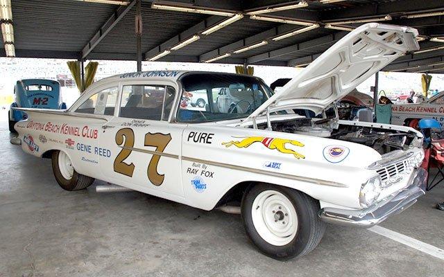 1959 Chevy Stock Car Daytona Turkey Run Spring 2014