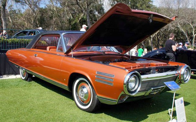 1963-Chrysler-Turbine-Expermential-Car
