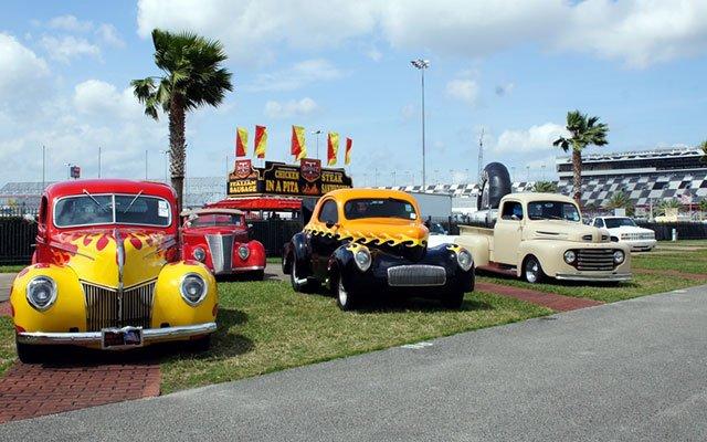 Daytona Turkey Run Spring 2014 car show field