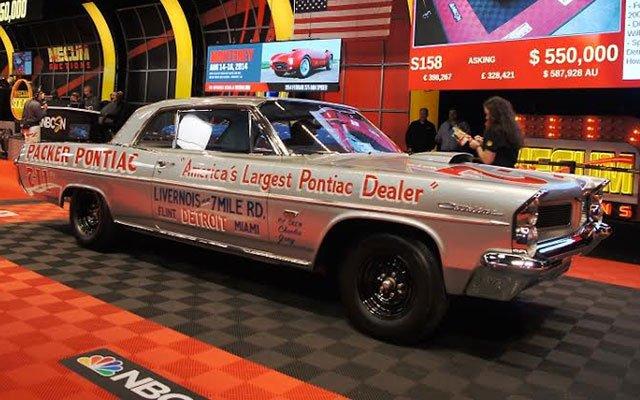 "1963 Pontiac Catalina ""Swiss Cheese"" race car"