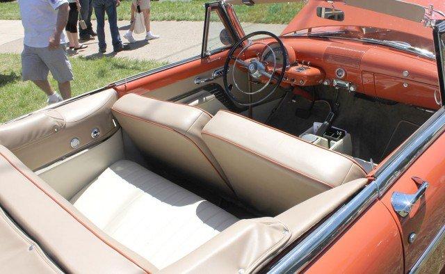 1953 Mercury Monterey Convertible custom interior