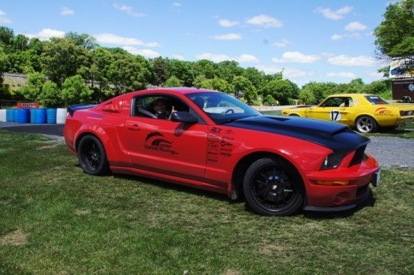 Gateway Mustangs had their special edition set for the Auto Cross course which they sponsored here at the Carlisle Ford Nationals.