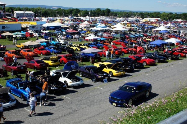 Mustangs at Carlisle Ford Nationals