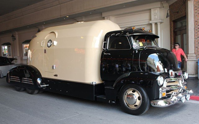 1954 Chevy Tourliner for Barrett-Jackson Cup at 2014 Hot August Nights