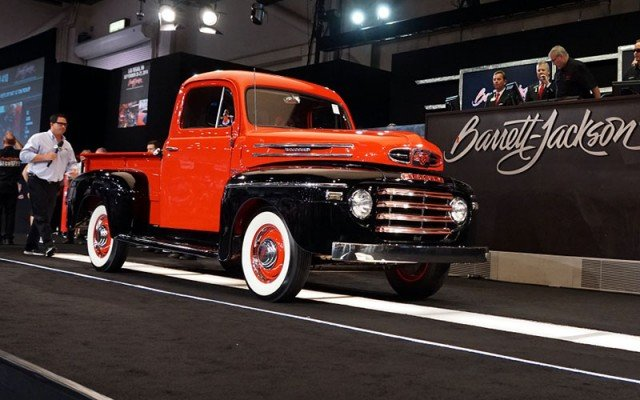1954 Mercury Pickup for Barrett-Jackson at 2014 Hot August Nights