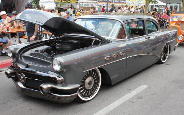 1956 Buick 2-Dr for Barrett-Jackson Cup at Hot August Nights