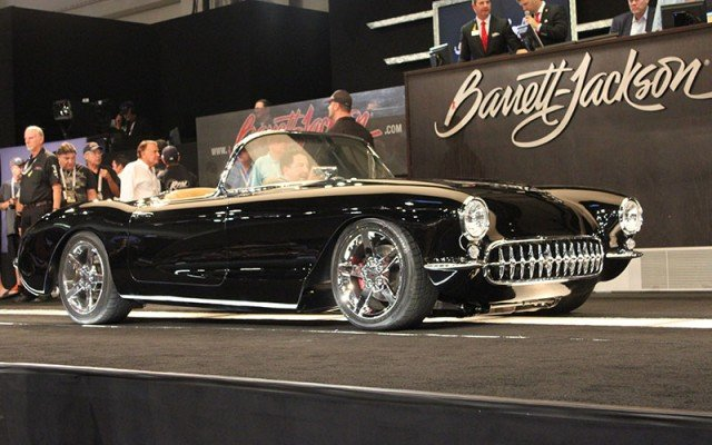 1957 Corvette Custom sold at Barrett-Jackson at 2014 Hot August Nights