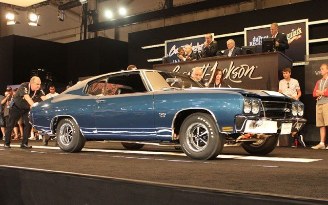 1970 Chevelle L78 sold at Barrett-Jackson at 2014 Hot August Nights