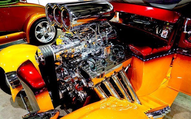 1930 Ford Model A Hemi engine