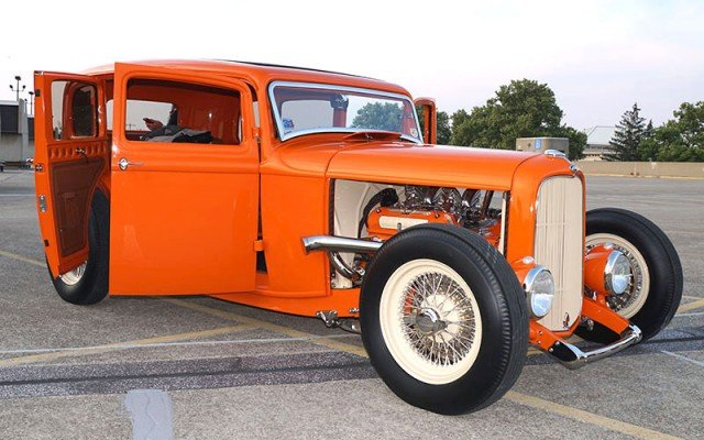 1932 Ford Fordor 2014 Goodguys Street Rod of the Year