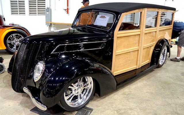 1937 Ford Woody Wagon for 2014 Goodguys Street Rod of the Year