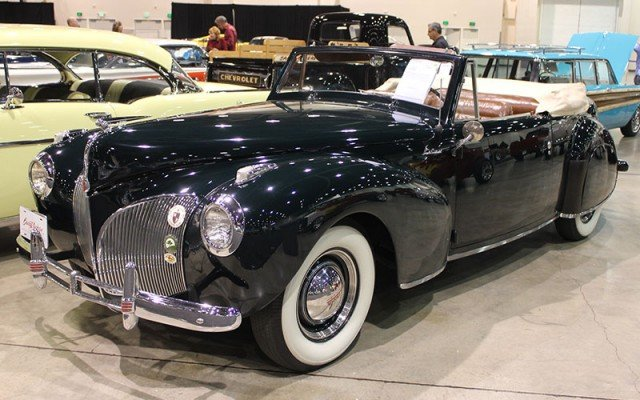 1941 Lincoln Barrett-Jackson at Hot August Nights