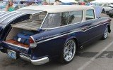 1955 Chevy Sedan Delivery at 2014 Hot August Nights