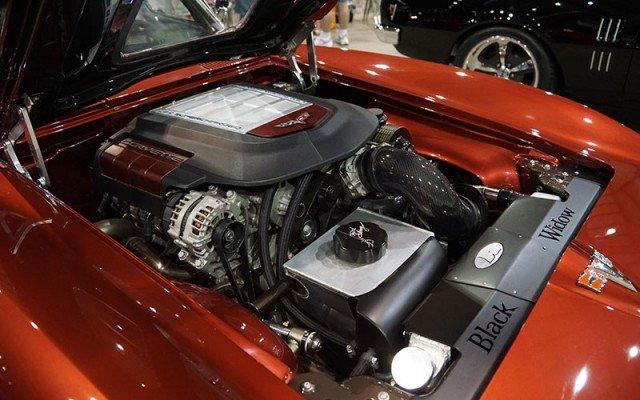 1963 Covette Custom motor