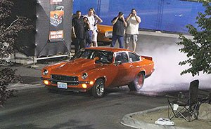 Drag Racing at 2014 Hot August Nights