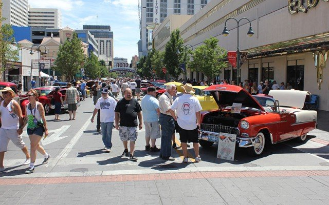 Downtown Reno at Hot August Nights